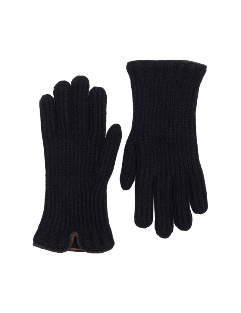 Gants en maille anglaise