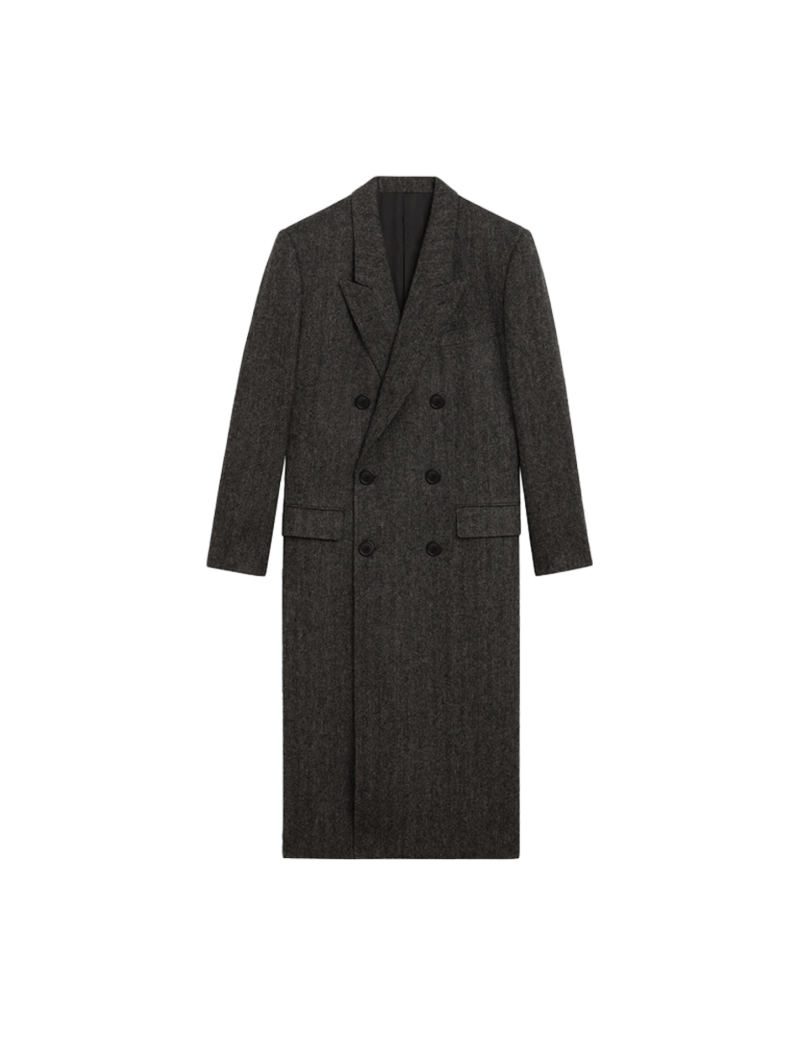 Overcoat 6b Col Crante Tweed