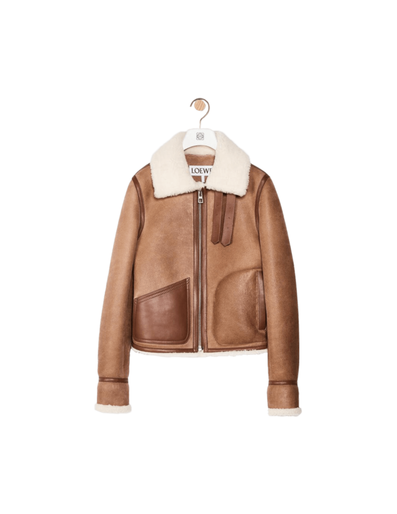 Shearling Aviator Jacket