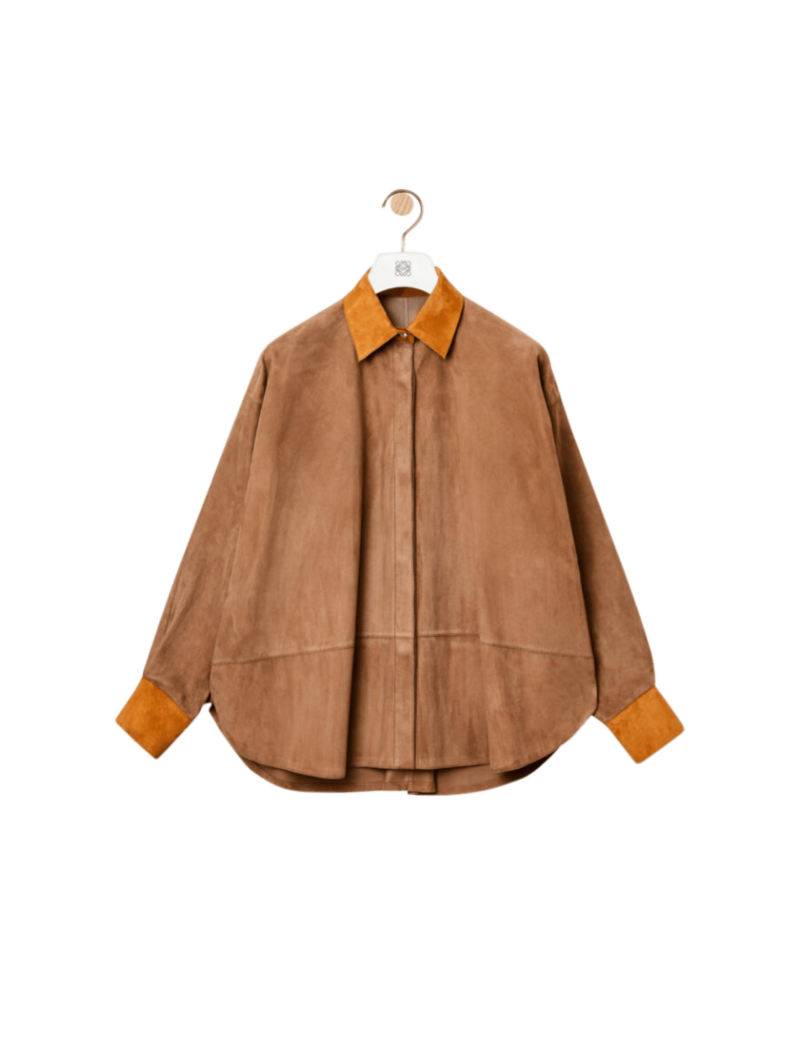 Oversize Suede Shirt