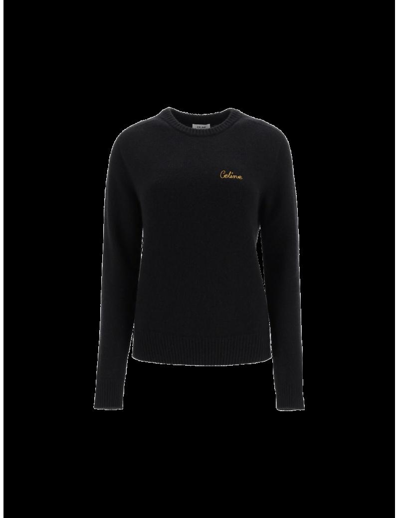 Col Rond Brodé sweater