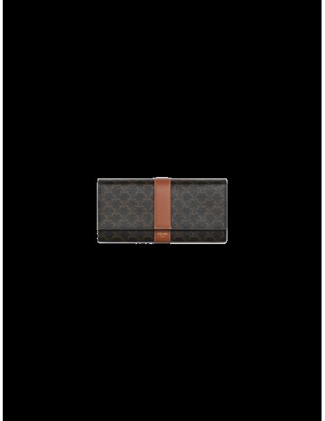 Grand portefeuille à rabat Triomphe