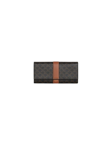 Large Triumph Flap Wallet