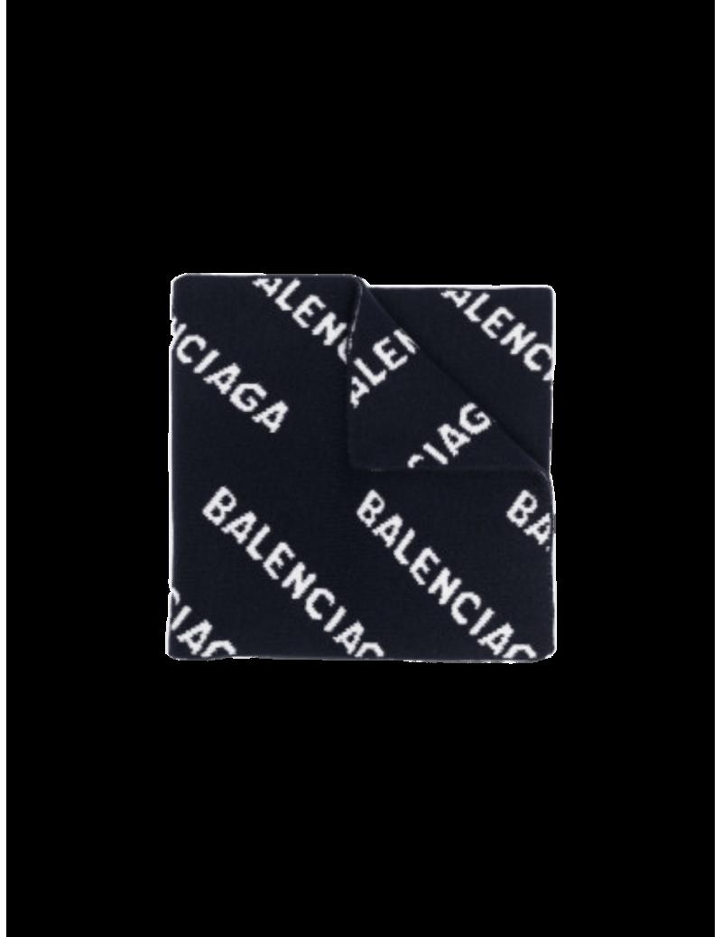 Echarpe Allover Logo
