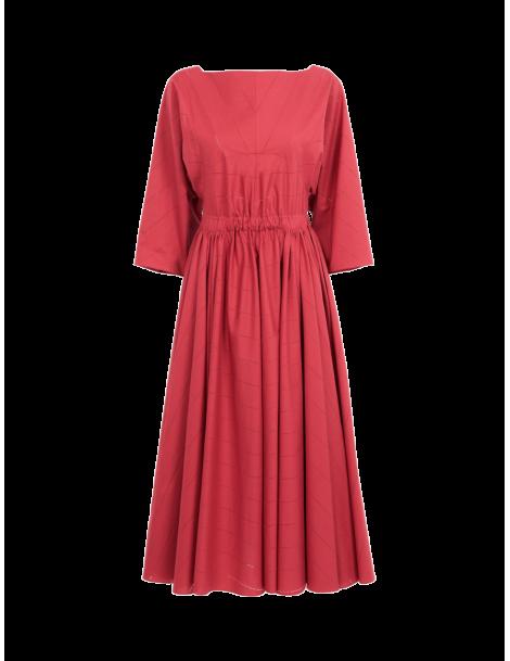 Robe Longue Popeline Jour