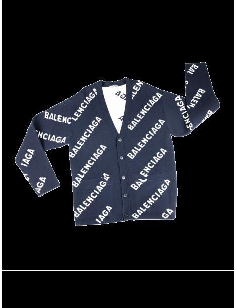 Cardigan Allover Logo
