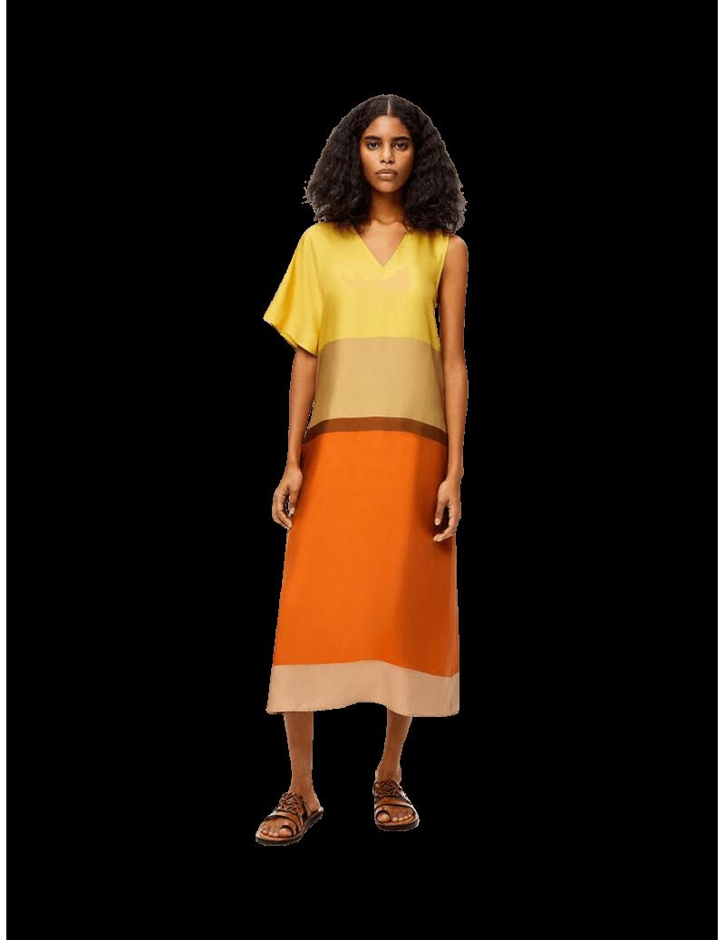 Robe Midi Asymétrique