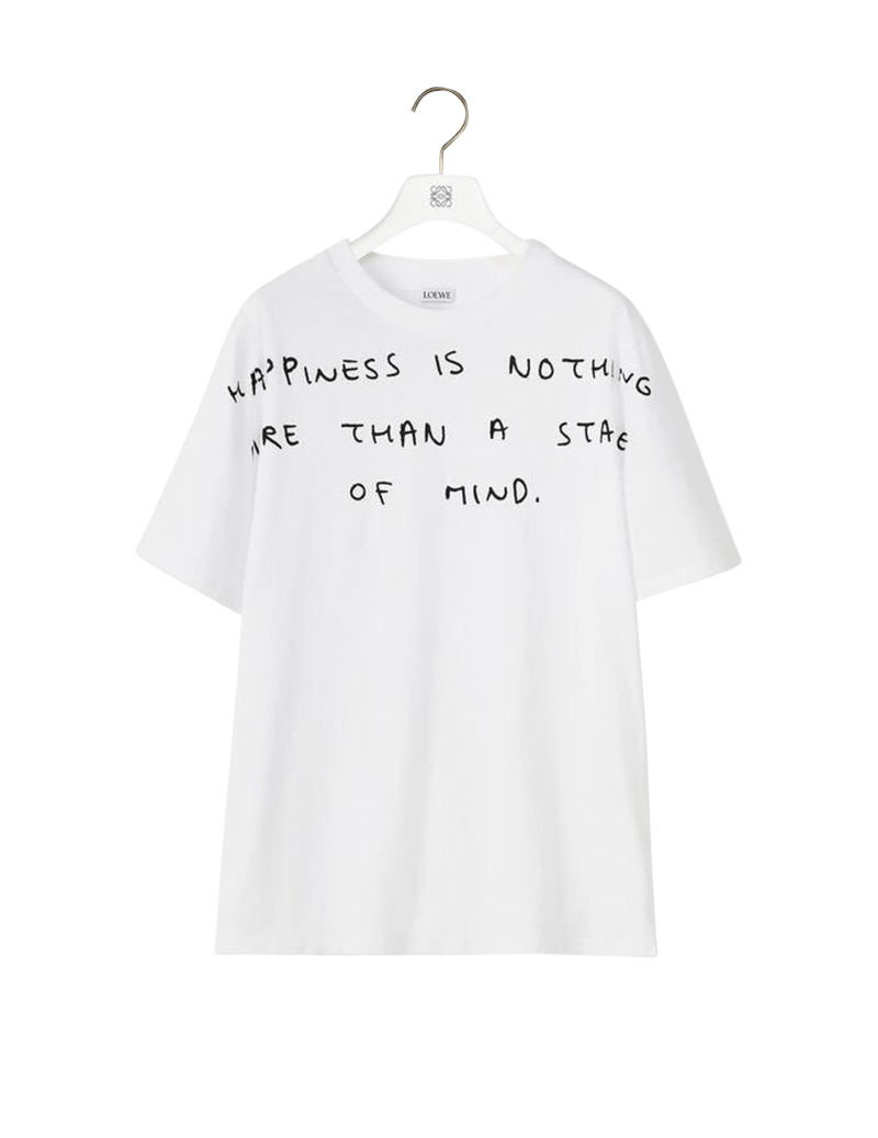Words Print T-shirt