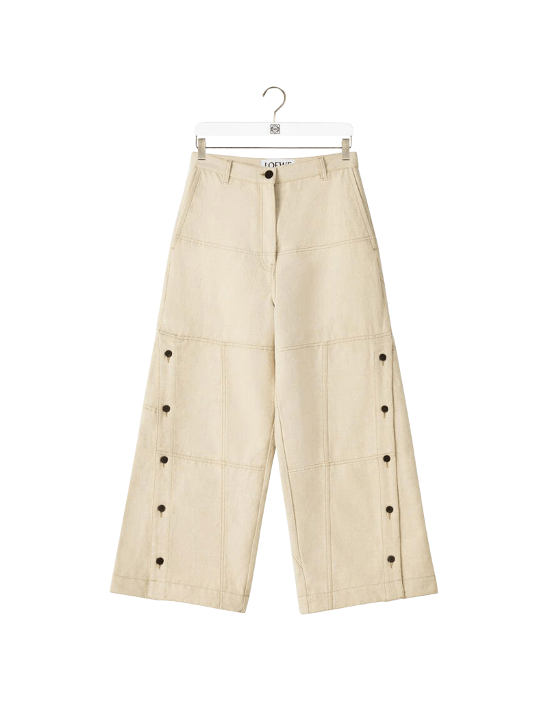 Button Down Trousers