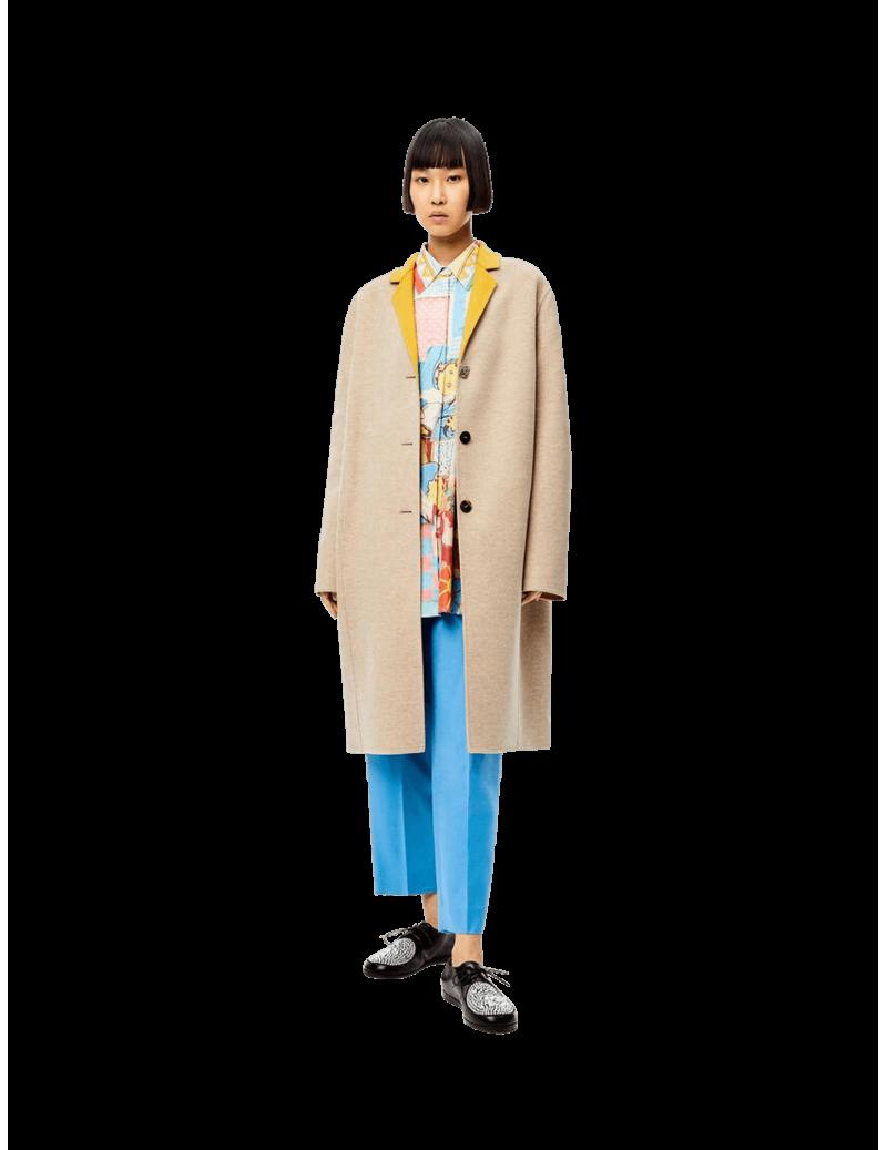 Anagram Bi-colour Coat