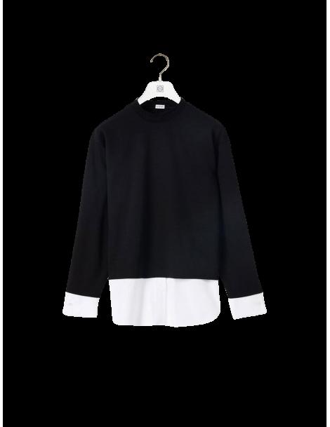 Sweatshirt Bi-Matière
