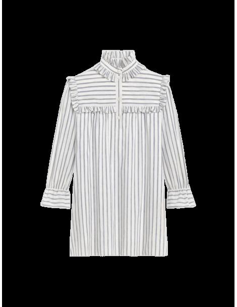 Frill Volante Short Dress