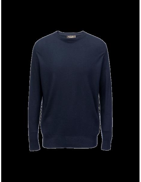 Superlight round-neck sweater