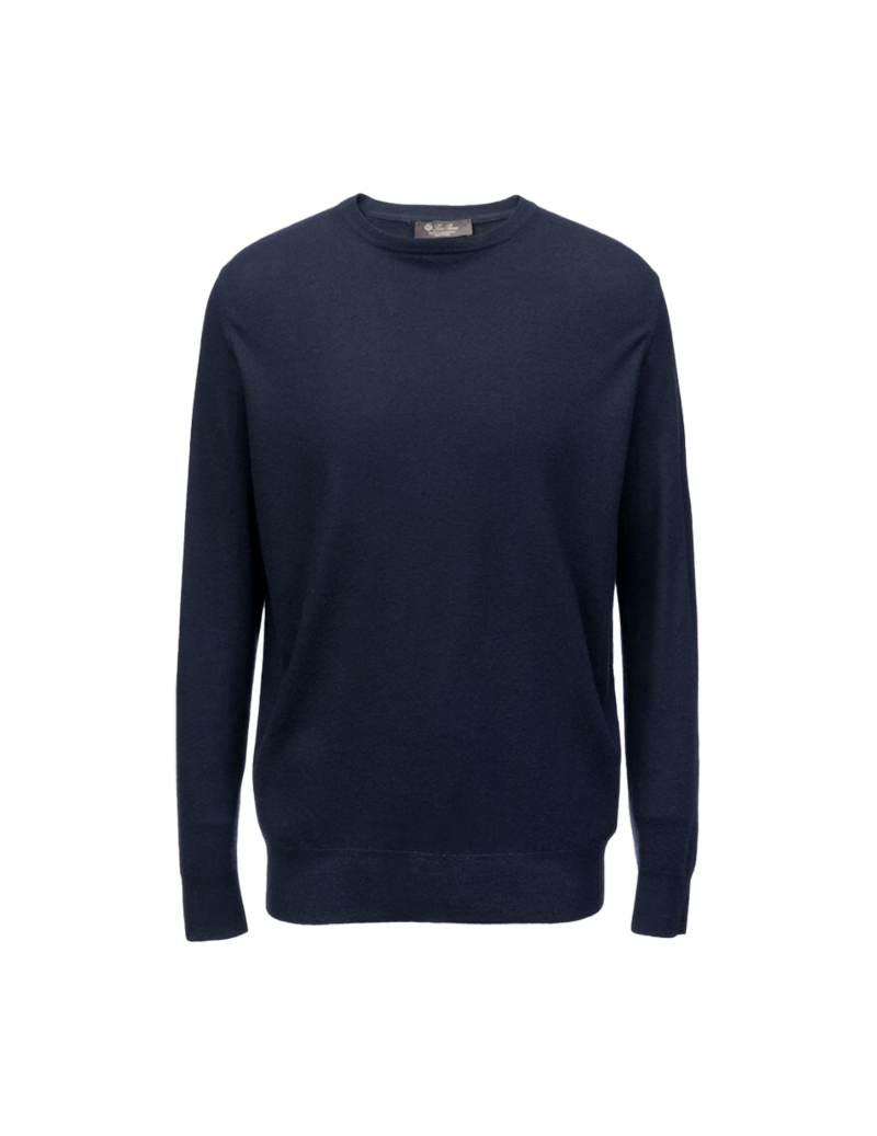 Superlight round-neck sweater