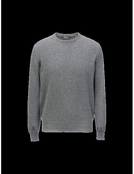 Classic round-neck sweater