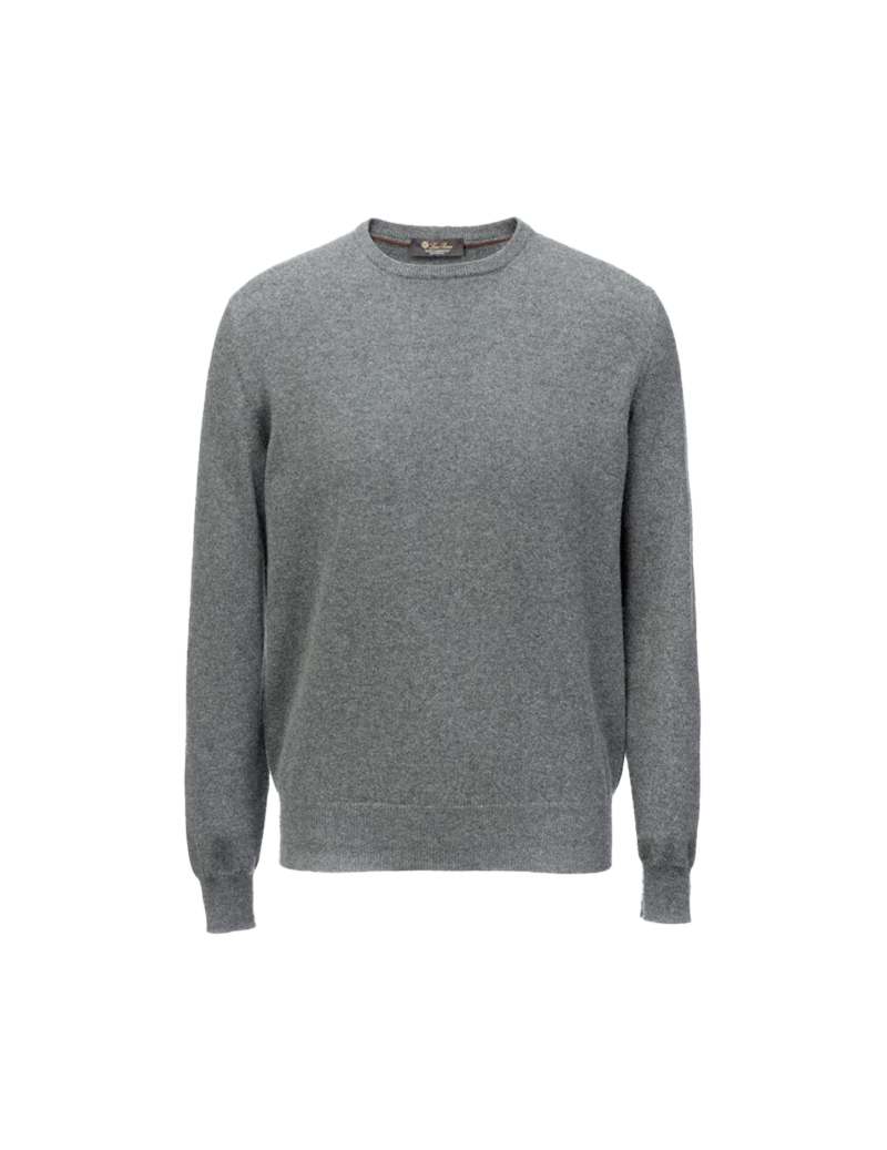 Classic round-neck sweater