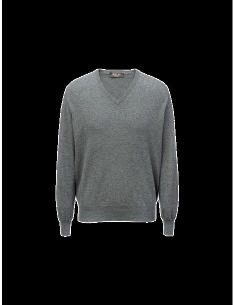 V Classic collar sweater