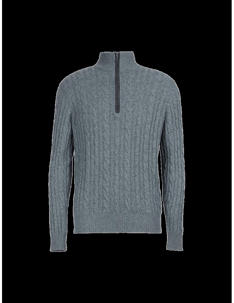Treccia Mezzocollo Sweater
